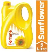 Fortune Sunflower Refined Oil – 5 Liter