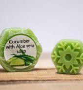 Cucumber with aloevera soap