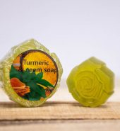 Turmeric with neem soap